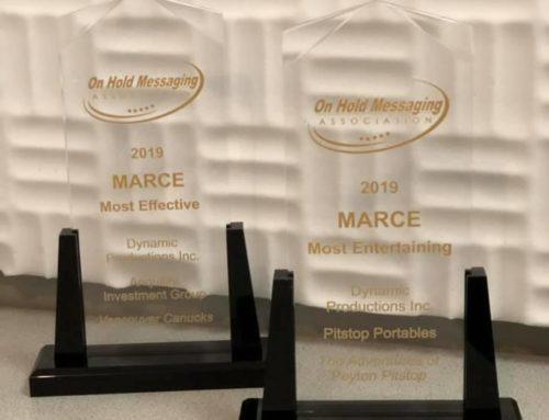 MARCE Awards Winner!
